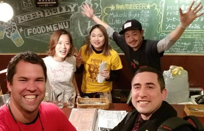 On this Osaka tour, you'll try craft beer of every kind!