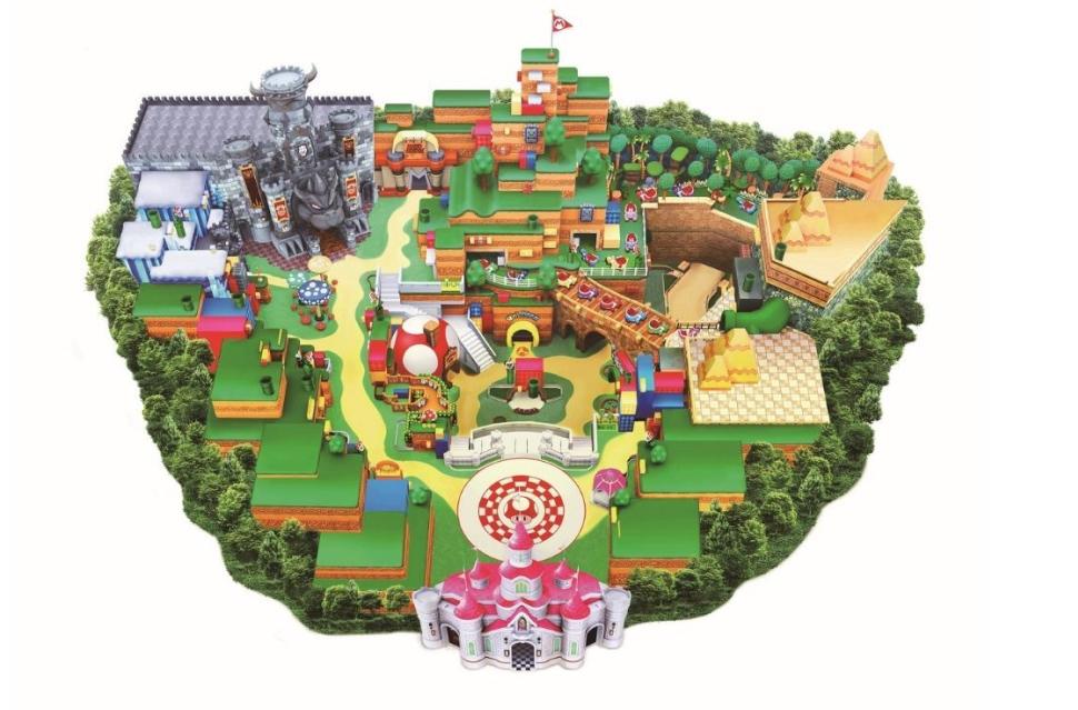 Layout of Nintendo World