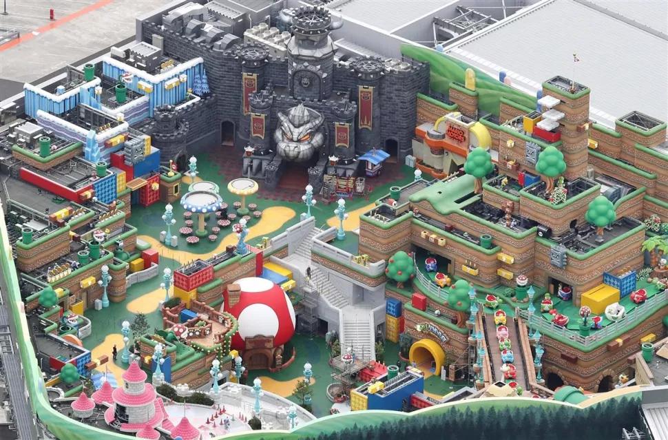 A sneak peek of Super Nintendo World