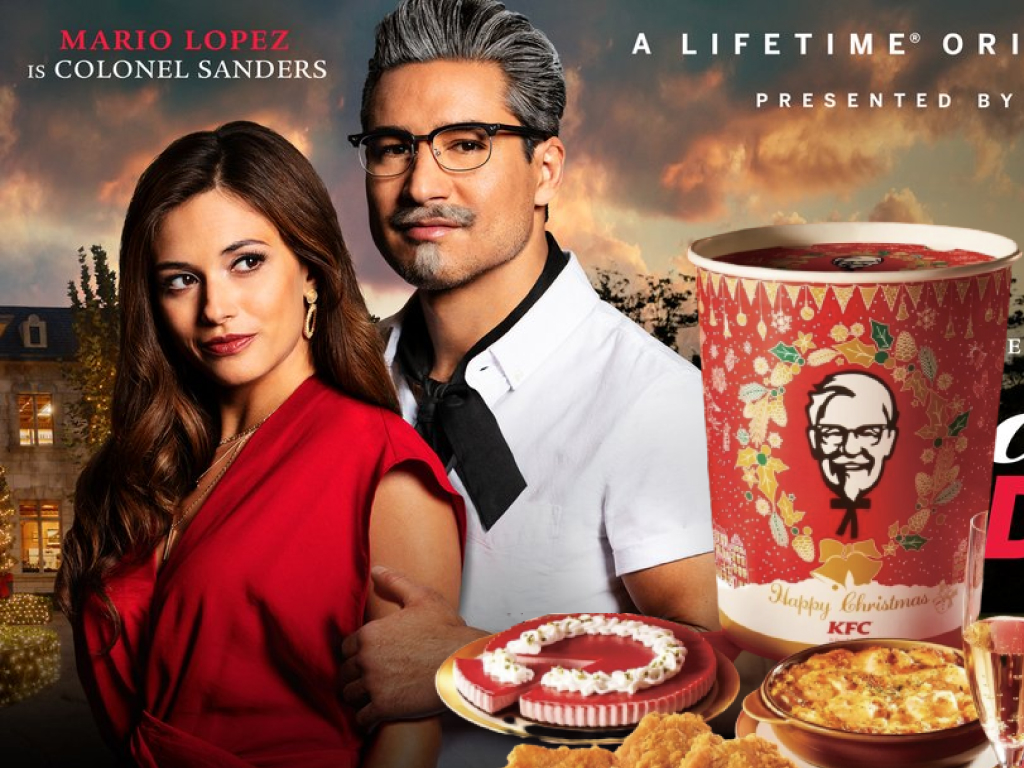 Mario Lopez Wishing You a Happy Holiday with KFC