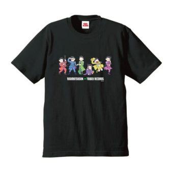 An Osomatsu-san shirt you can buy in the cafe