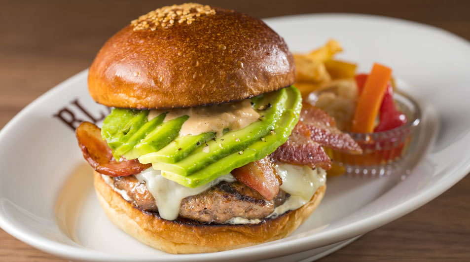 9. Avocado burger from Blacows