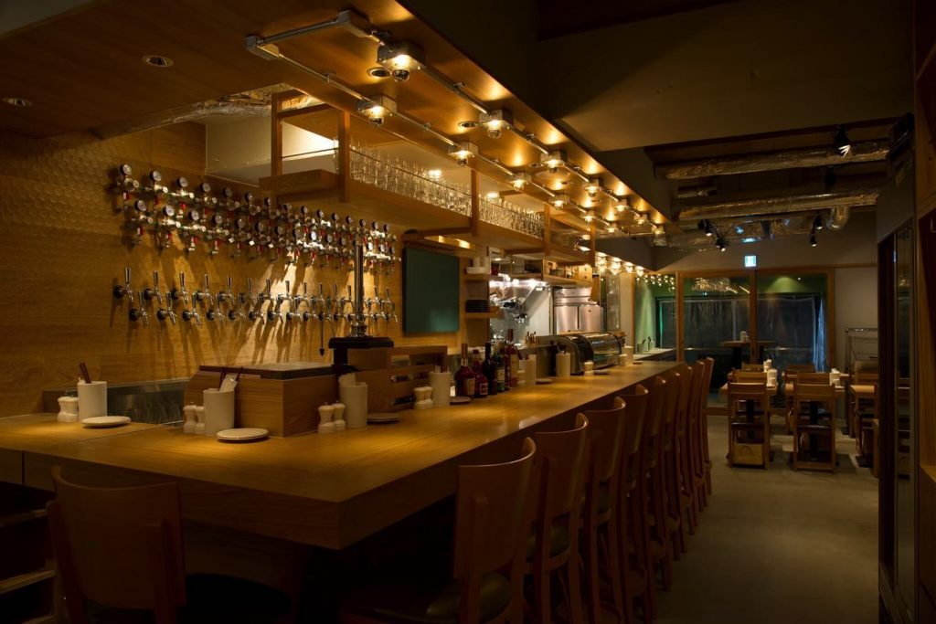 A view of Craftsman's taproom.
