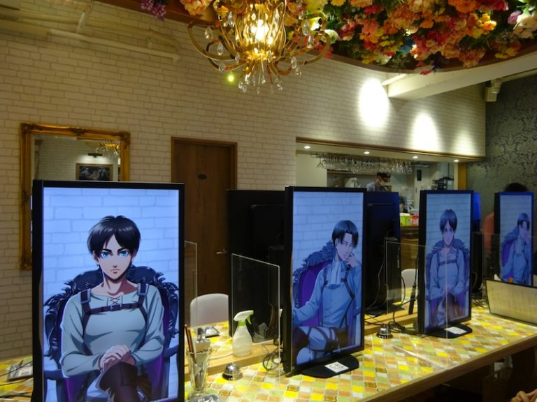 Attack on Titan X Charaum Cafe Collaboration
